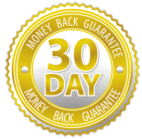 Risk-Free 30-Day Money Back Guarantee